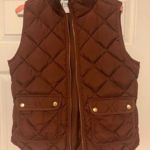 Women's quilted puffer vest j crew